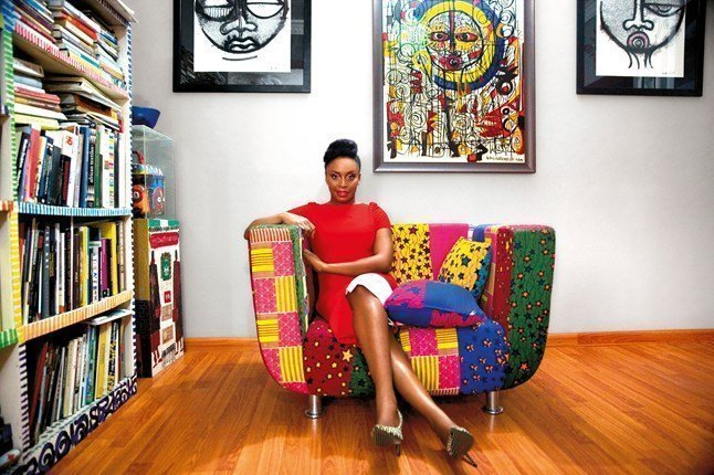 Chimamanda Adichie for vogue