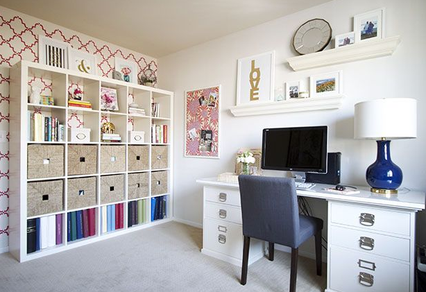 preppy-home-office-design