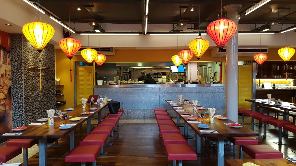 tampopo restaurant interior decor