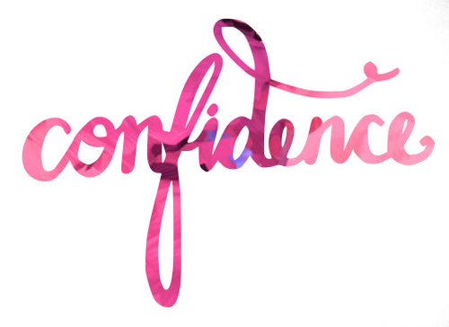 On becoming a confident person!