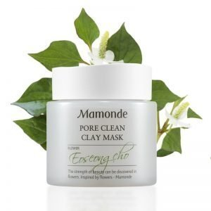 mamonde mask with flowers